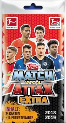2018-19 Match Attax Extra (Blister)