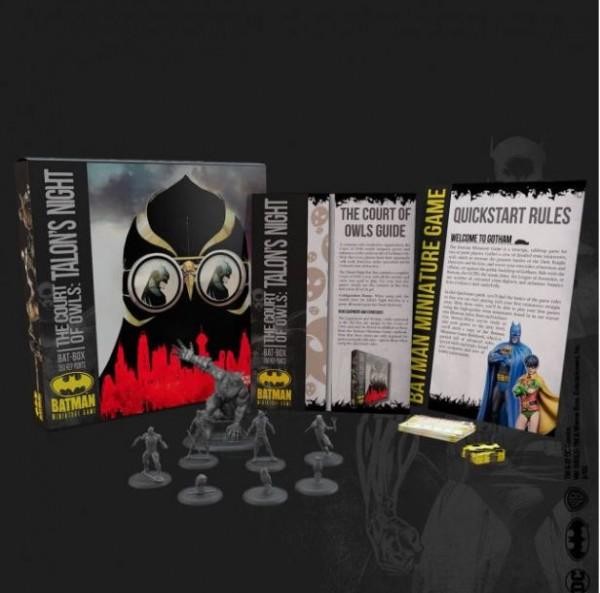 Batman Miniature Game Bat-Box The Court of Owls:
