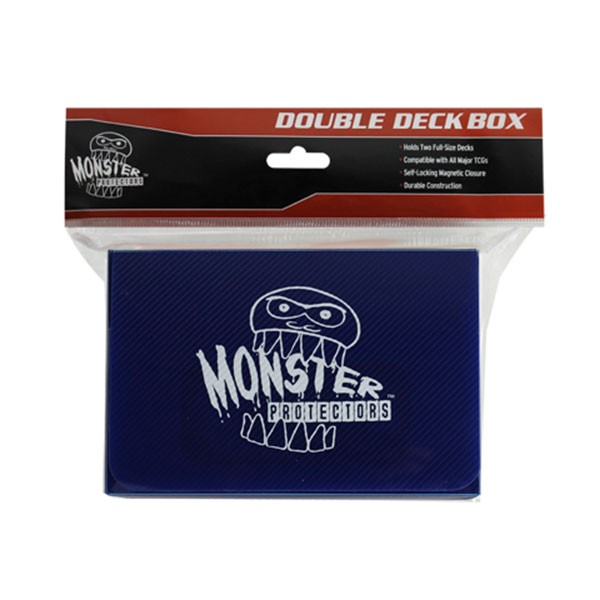 Monster Magnetic Double Deck Box Blue