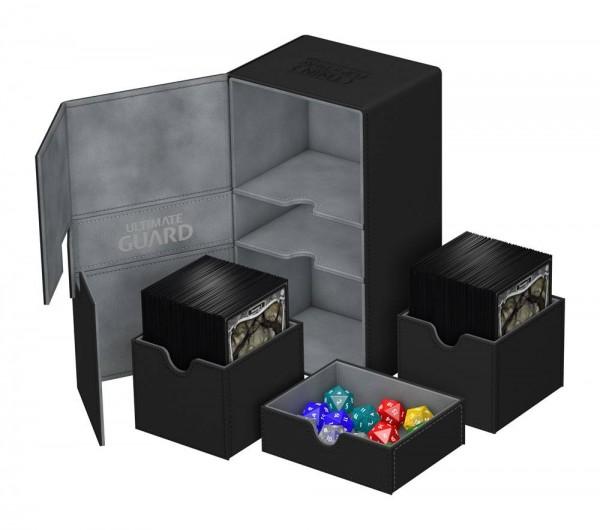 UG Twin Flip`n`Tray Deck Case 160+ XenoSkin Black