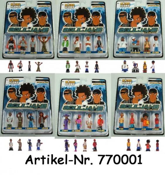 Micro Icons - SOULJAHS 4-Figuren Set (6 ct.)