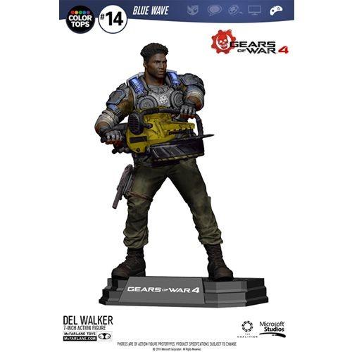 Gears of War 4 - Del Walker 18 cm Color Tops