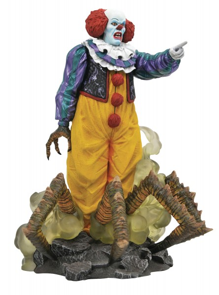 IT 1990 - Gallery Pennywise TV 23 cm Statue