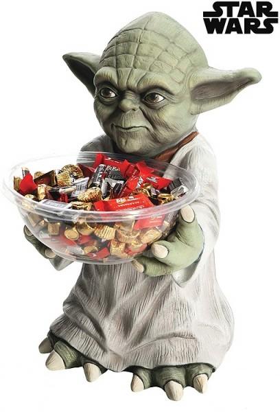 Star Wars Yoda Candy Bowl Holder 50 cm