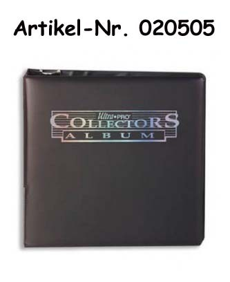 """UP Album Collectors Card schwarz 3"""""""