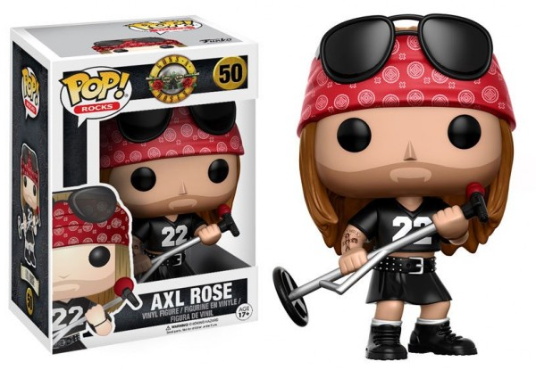 POP - Musik - Guns n' Roses - Axl Rose