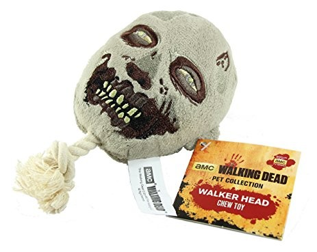 Walking Dead Pet Collection Walker Head Chew Toy
