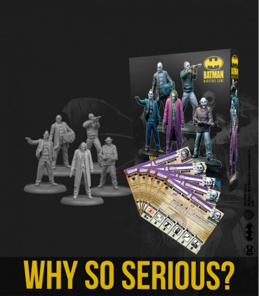Batman Miniature Game - Why so Serious?