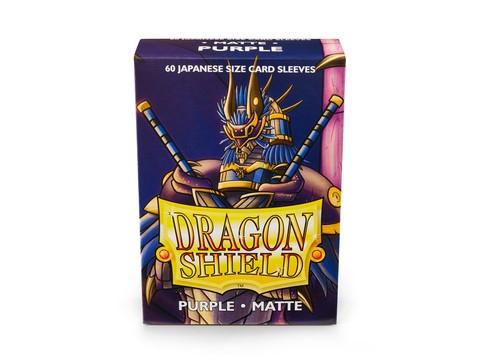 Dragon Shield Japanese Sleeves Matte Purple (60ct)