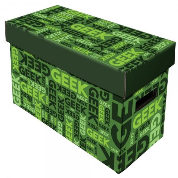 BCW Short Comic Box - Art - Geek - Green