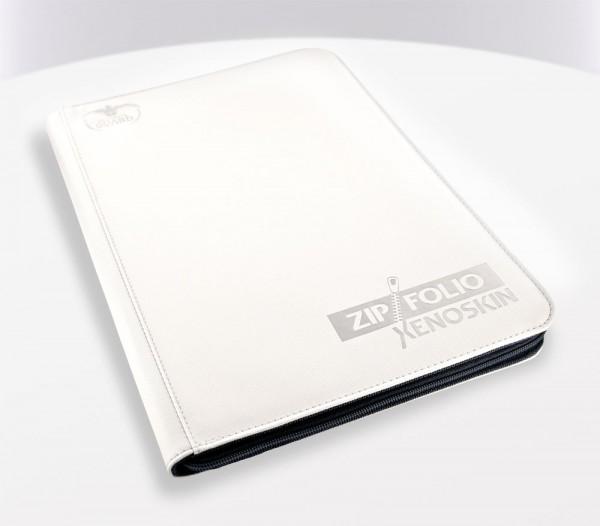 UG 9-Pocket ZipFolio XenoSkin White