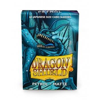 Dragon Shield Japanese Sleeves Matte Petrol (60ct)