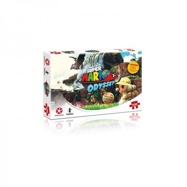 Super Mario Odyssey Fossil Falls Puzzle/500