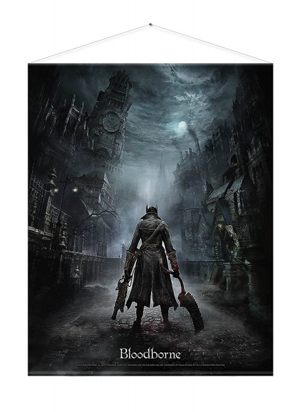 Bloodborne Wallscroll - Night Street
