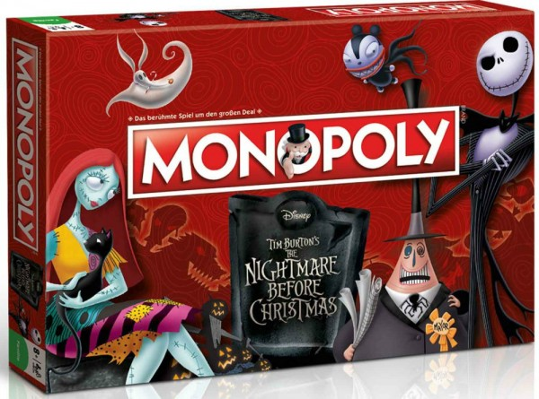 Monopoly - Nightmare Before Christmas DE