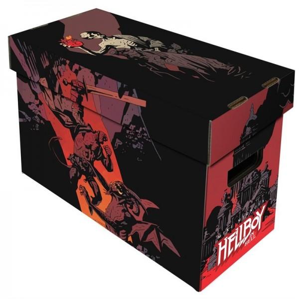 BCW Short Comic Box - Art - Hellboy in Hell