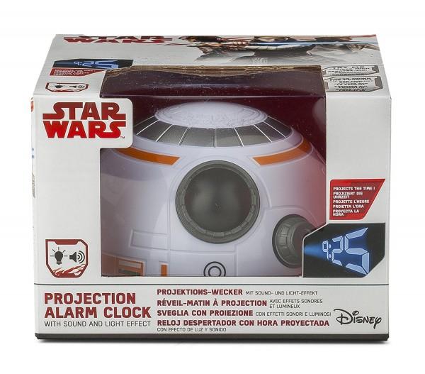 Star Wars BB-8 Kuppel-Wecker Sound&Wandprojektion