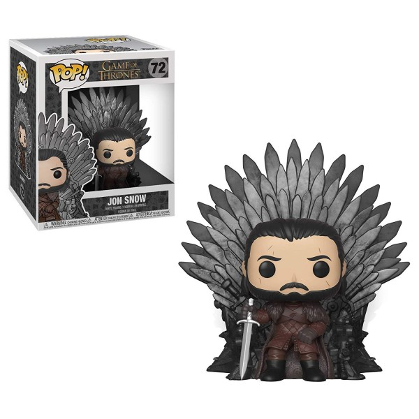 POP - Game of Thrones - Jon Snow on Throne