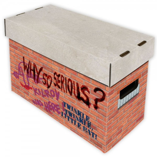 BCW Short Comic Box - Art - Brick
