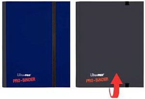 UP Pro-Binder für 160 Karten blau/schwarz
